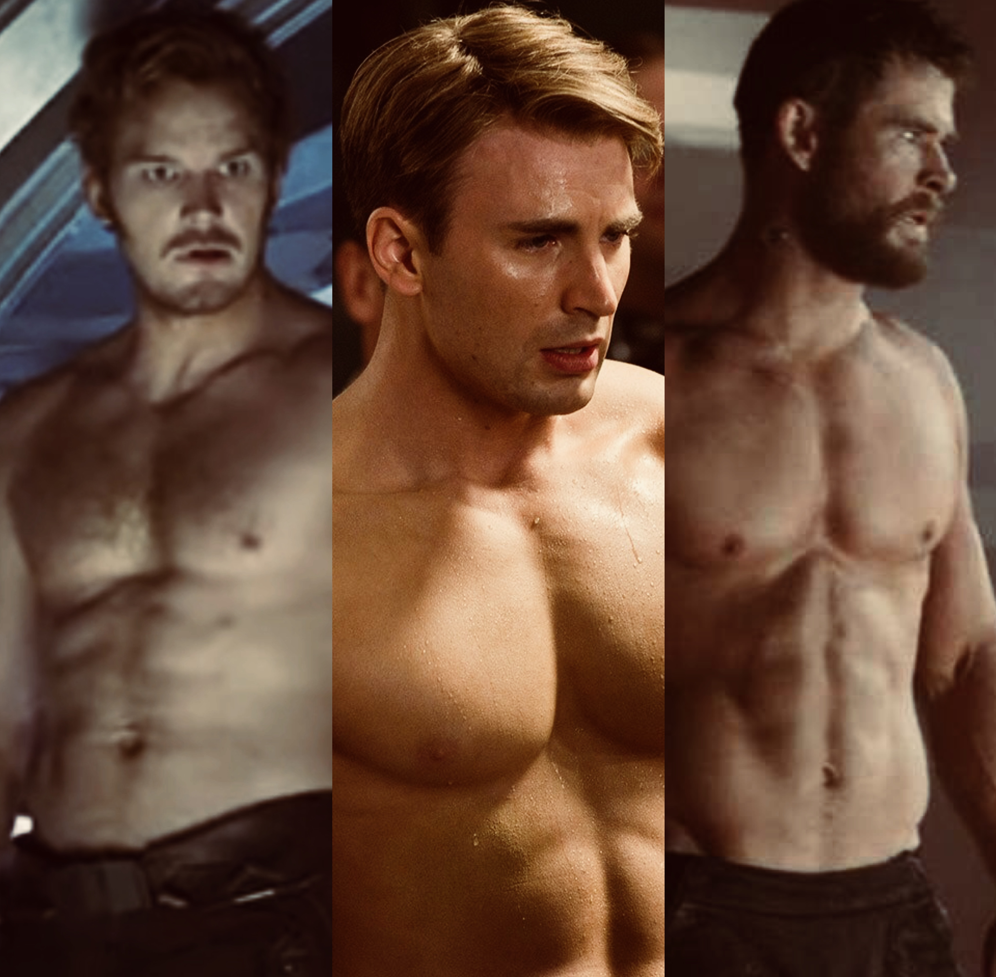 Which Chris is the sexiest superhero?